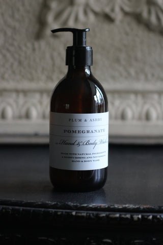 Plum & Ashby Pomegranate Hand & Body Wash