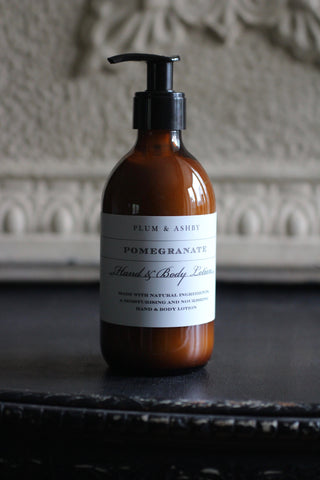 Plum & Ashby Pomegranate Hand & Body Lotion