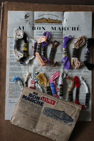 Vintage French Sewing Sample Pack