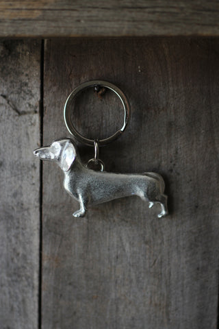 Dachshund Key Ring