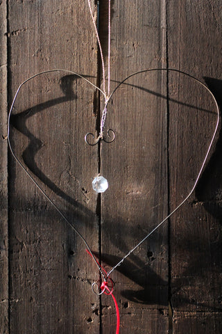 Wirework Heart Decoration