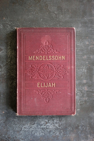Mendelssohn Vocal Score (Vintage Book)