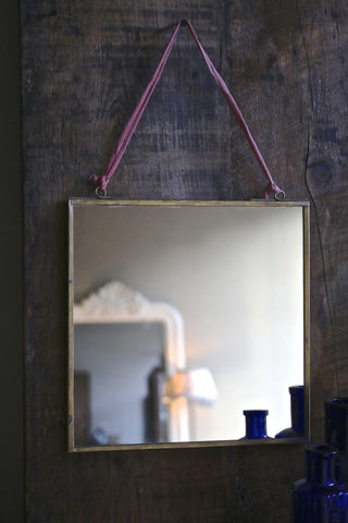 Brass Edged Mirror