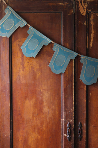 French Paper Garland