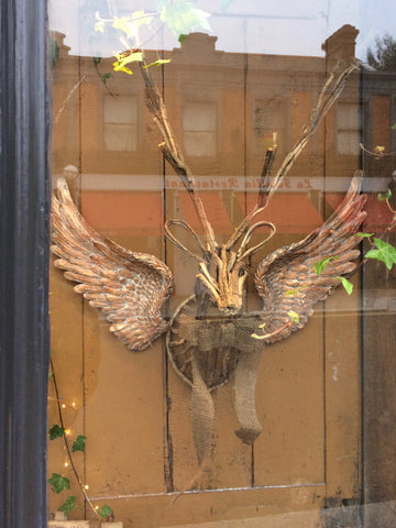Small Bronze Angel Wings