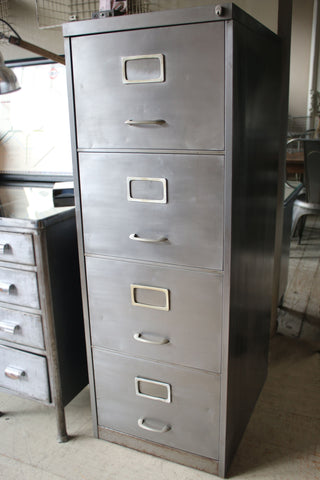 Vintage Reconditioned Filing Cabinet