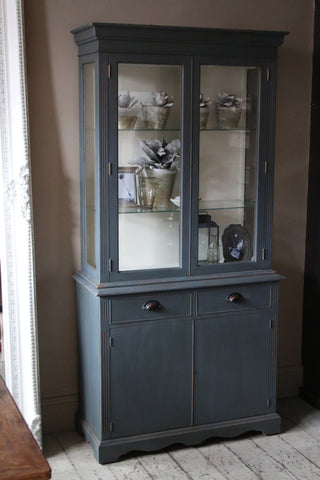 Painted Display Cabinet Dresser