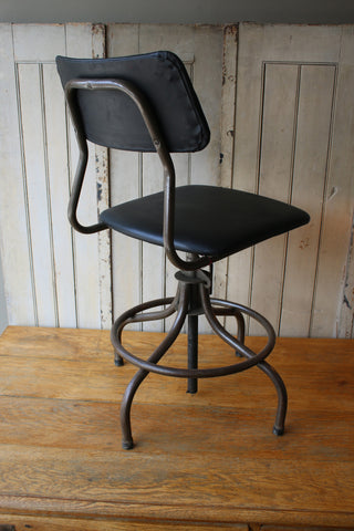 Steel Desk Chair