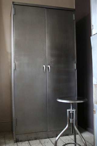 Large Industrial Steel Cupboard