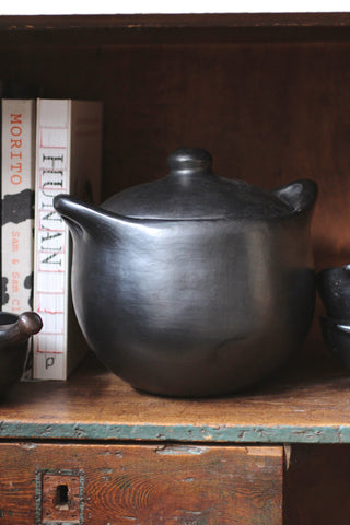 Black Ceramic Cooking Pots