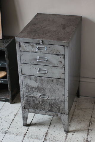 Vintage Steel Filing Drawers