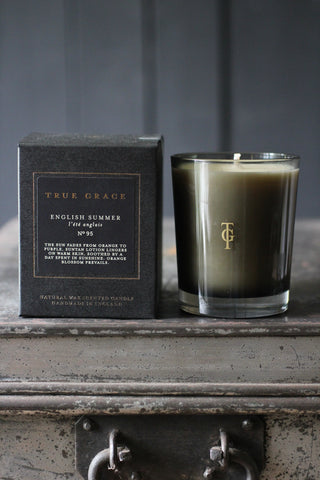 True Grace English Summer Candle - No 95