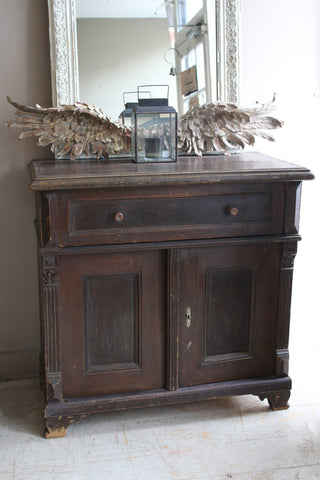 Dark Wood French Vintage Sideboard