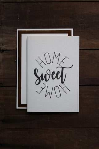 Katie Leamon Home Sweet Home Card