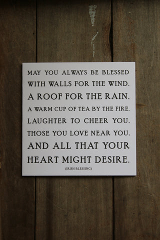 Quotable Card - May you always be Blessed