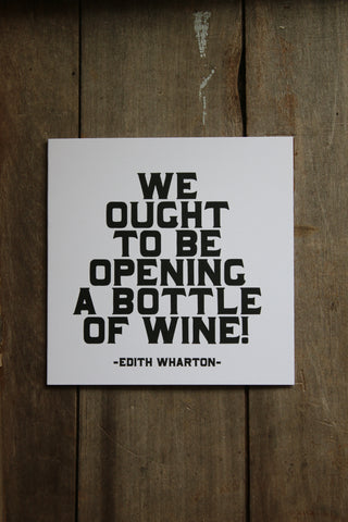 Quotable Card - We Ought to be opening