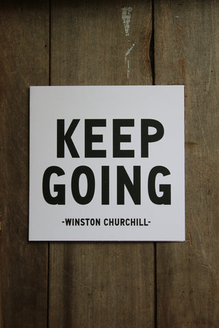 Quotable Card - Keep Going