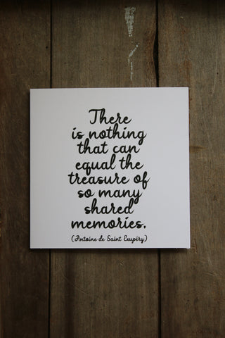 Quotable Card - Shared memories