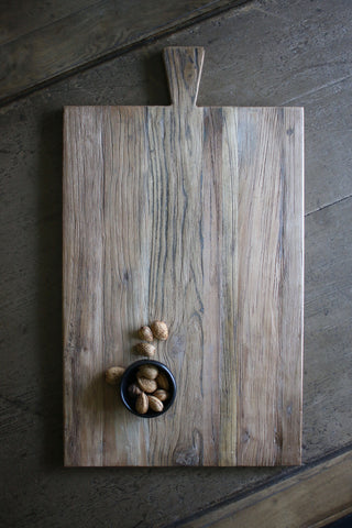Reclaimed Elm Serving Board