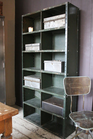 Industrial Steel Shelving Unit