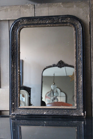 Black Louis Philippe Mirror