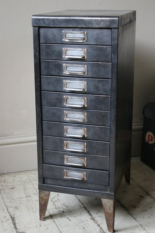 Black Steel Filing Drawers