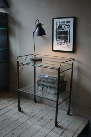 STEEL MEDICAL TROLLEY (CO)