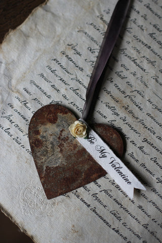 Rusty Heart Decoration