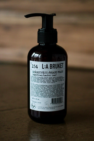 L:A BRUKET NO. 154 BEARD WASH 200ML