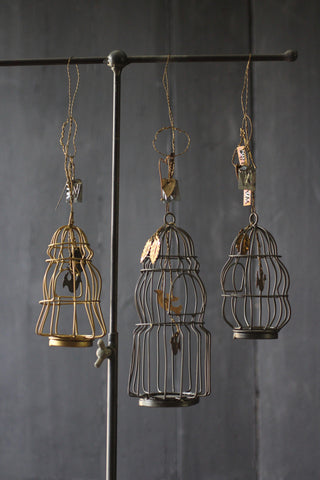 Walther & Co Hanging Bird cage
