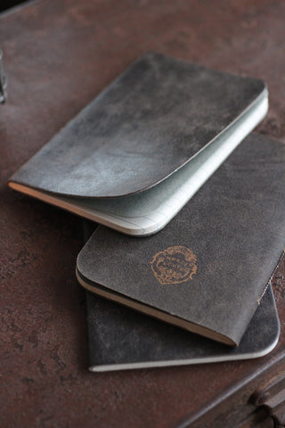 French Leather Notebook