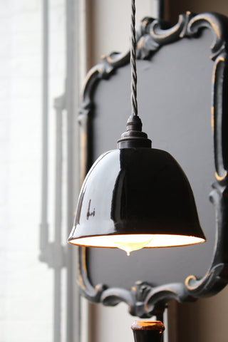 Black Enamel Shade (small)