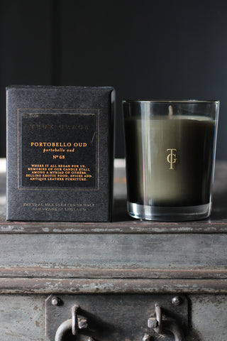 True Grace Portobello Oud Candle - No 68