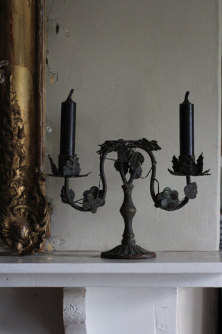 Candlestick with Leaves