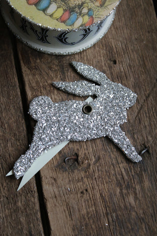 Glitter Leaping Bunny