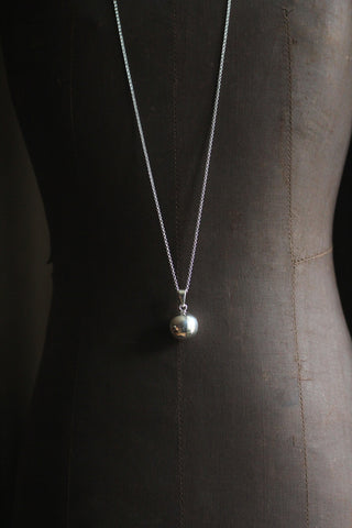 Silver Pregnancy Chimes Necklace