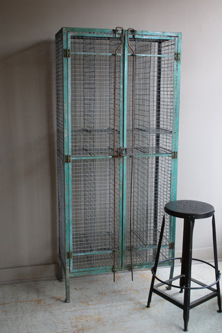 Vintage Wirework lockers