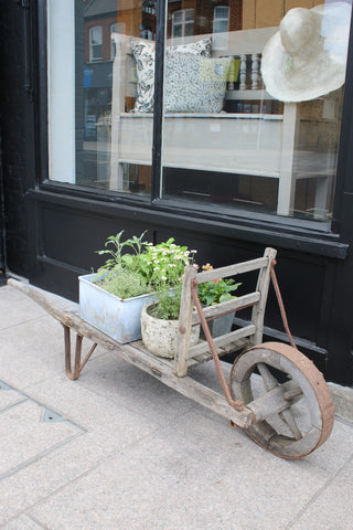 Antique Wooden Cart