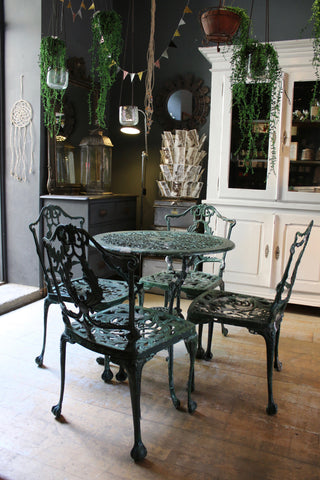 Vintage Garden Table & Chairs Set