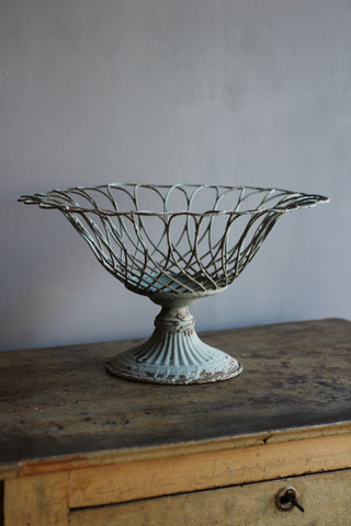Wirework Footed Bowl