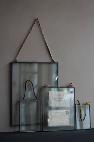 Zinc Glass Photo Frames (Portrait)