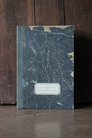 Navy Marble Notebook