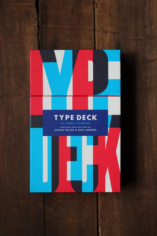 Type Deck: Typography Cards
