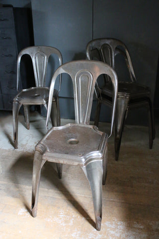 Original Vintage Tolix Chairs (Set of 4)