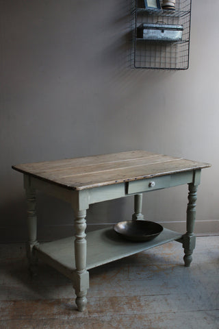 Antique French Preperation Table