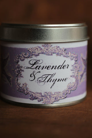 Lavender & Thyme Tinned Candle
