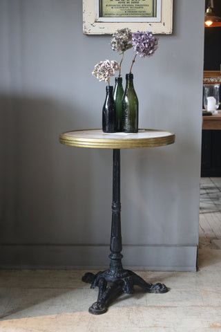 Vintage French Cafe Table