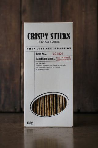LE CRU - Crispy sticks with Olive & Garlic