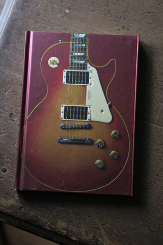 Les Paul Standard Guitar Notebook