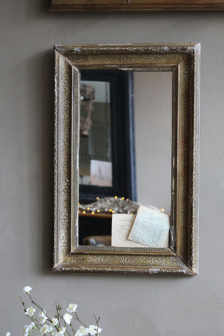 Antique Framed MIrror